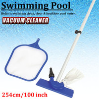 1 Set Tub Pool Maintenance Kit For Above Ground Swimming Pool Vacuum Water Cleaner Swimming Pool Cleaner Tool Accessories New