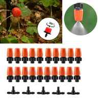 DIY 4/7 Hose Drip Irrigation System Garden Automatic Watering Plant Kits with Adjustable Drippers