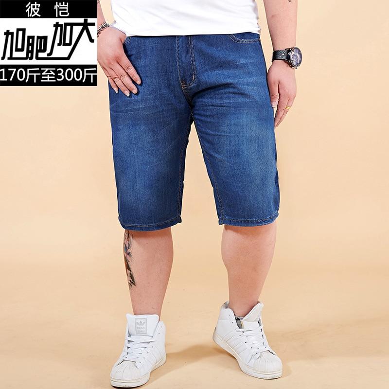 À Coton Court 10xl Qualité Blue Solides Hommes La Denim blue Casual Courts Shorts Plus Dark Bonne Courtes Jeans De Bleu Mâle Droites Taille ww4q7zFvS