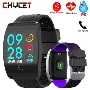 Fitness Bracelet Blood Pressure Smart Band Waterproof GPS Pedometer Watch Fitness Tracker Heart Rate Monitor Sport Women Men