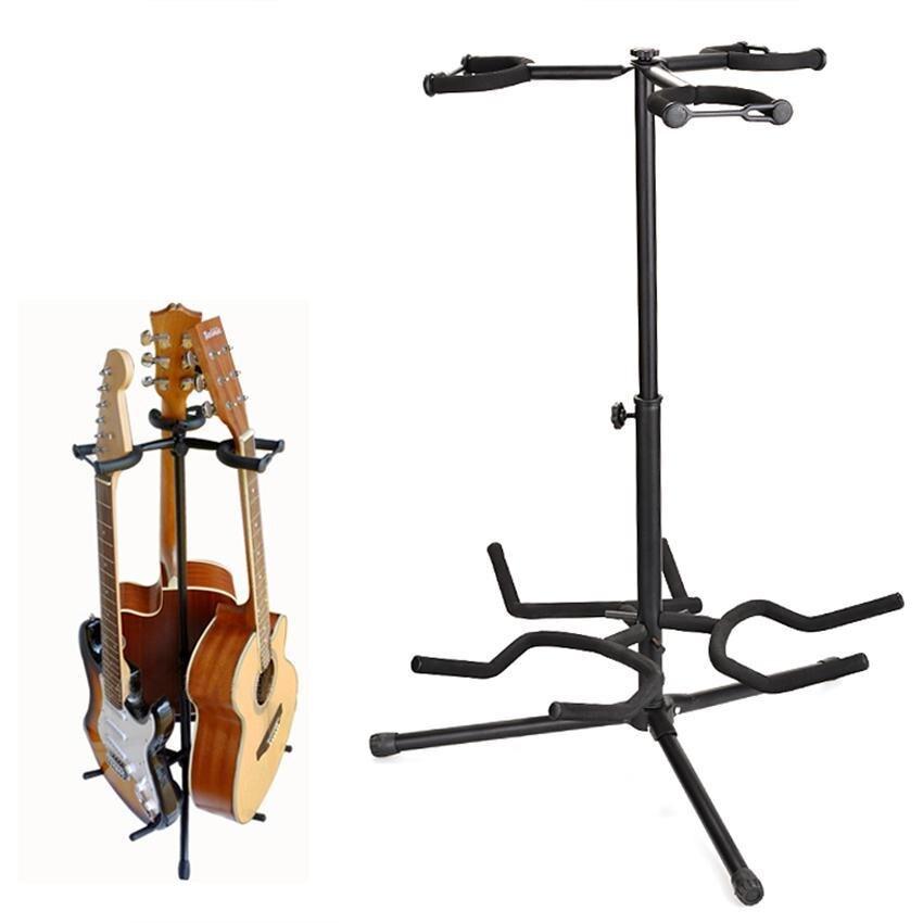Portable Universal Tripod Guitar Stand Musician's Gear Folding Guitarra Musical Instruments Stand Guitar Accessories
