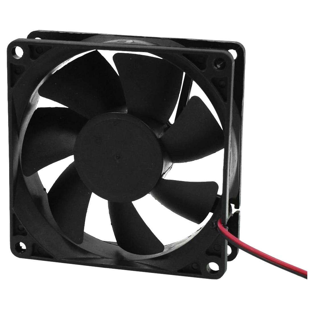 Кулер вентилятор 80 мм DC 12 В в Вт 2 Вт 4 штекер к Женский адаптер PC компьютер вентилятор
