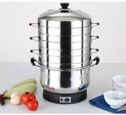 food steamer pot  lunch warmer  restaurant equipment  stainless steel food warmers  steam cooker  electric steamer