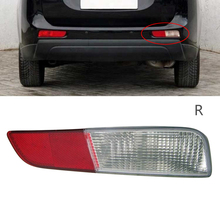 Rear Bumper Tail Fog light Lamp Cover Right Left Reflector For Mitsubishi 2013-14 Outlander