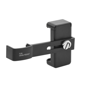 Image 1 - Cell Phone Mount Clamp Clip Securing Holder for DJI OSMO Pocket Handheld Gimbal Stabilizer Adapter Smartphone Support Accessory