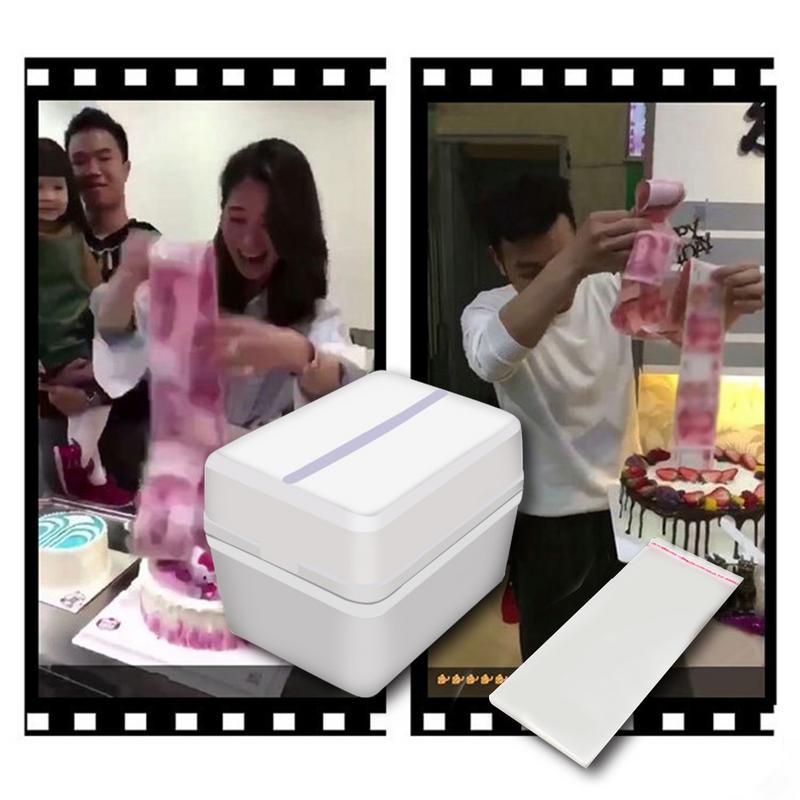 Funny Toy Box Cake Props Making Surprise