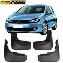Dasbecan Автомобильные Брызговики для Volkswagen Golf 6 2008-2013 автомобильные аксессуары брызговик панели 2008 2009 2010 2011 2012