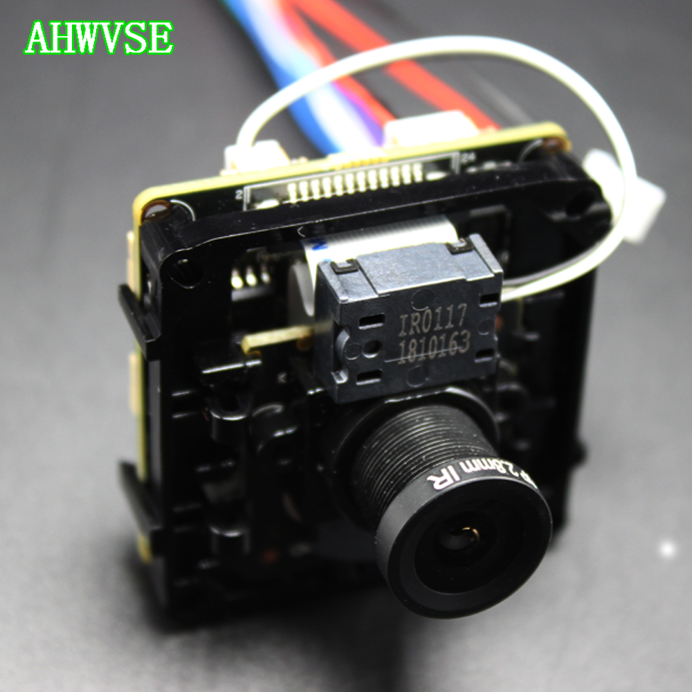 AHWVSE 2 8mm Wide IP Camera Module 1920P 5MP IP Cam XMEye ONVIF P2P Motion Detection
