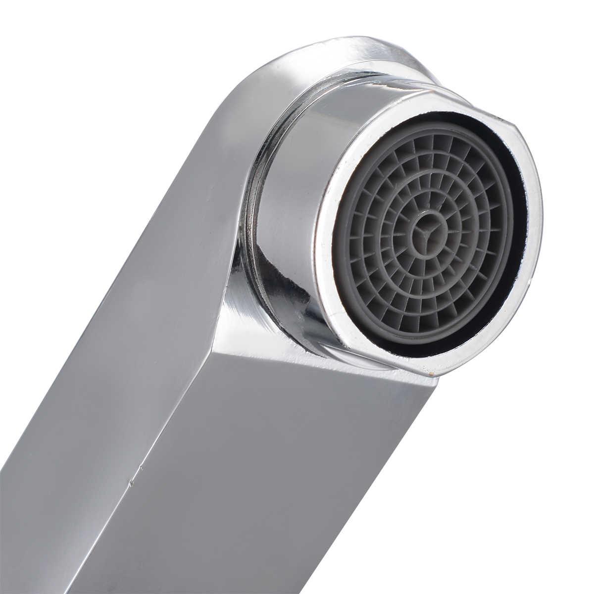 Único punho pia do banheiro torneira da bacia quente e fria misturadora torneira da cozinha cachoeira para banheiro torneira da cozinha