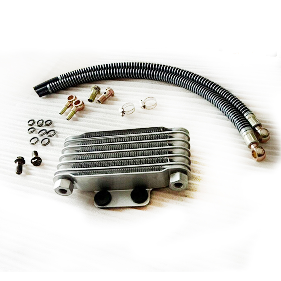 Oil Cooler radiator High performance refit accessories For Dirt Pit Bike Monkey Racing Motorcyle Kayo BSE