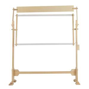 Image 5 - كبيرة الحجم التطريز حامل الصلبة إطارات خشبية طاولات خشبية قابلة للتعديل الإطار ل عبر غرزة الخياطة اليدوية أدوات