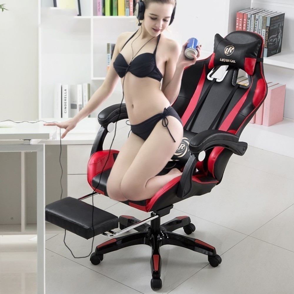 Leather Office Gaming Chair Ergonomic Chair Chair Office Office Gaming Chair