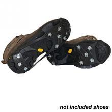 1 пара 8 гвоздей ледяные поплавки захват для обуви снежные кошки походные бутсы шипы тяговые ледяные обувь с заклепками Нескользящие ледяные гриппы