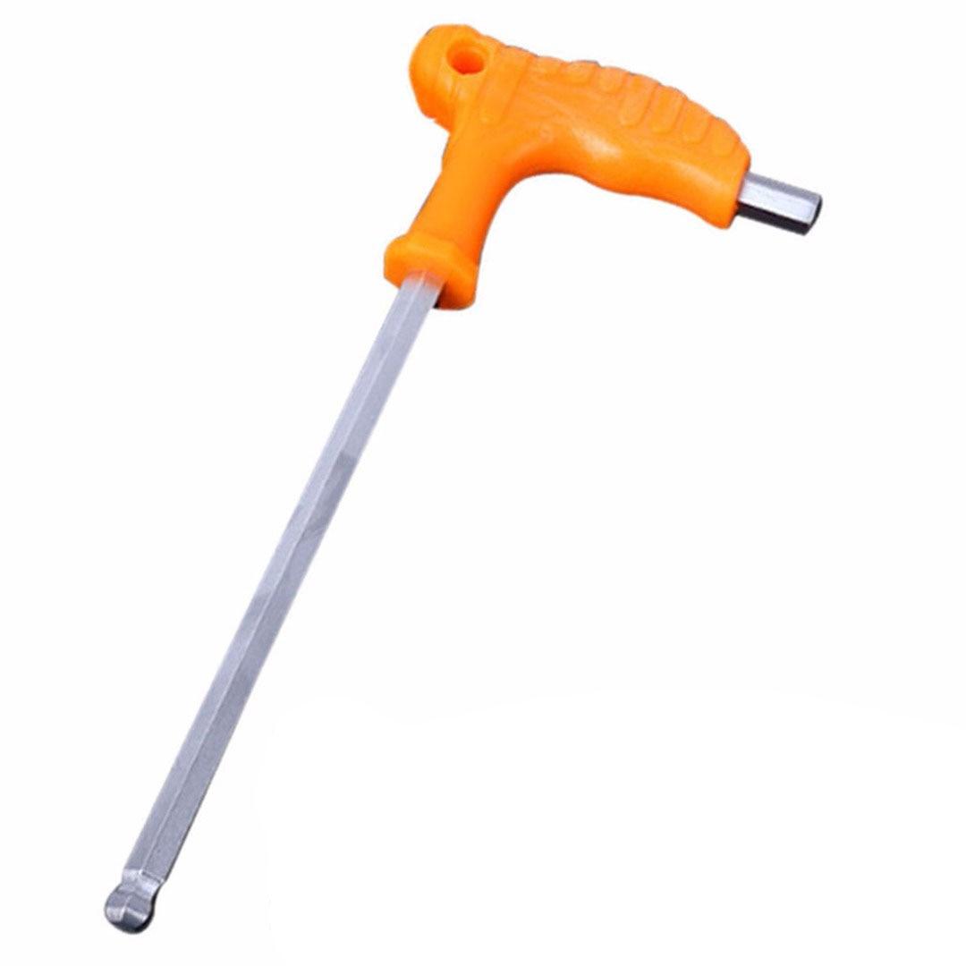 Image 2 - 2,5 мм 3 мм 4 мм 5 мм 6 мм 8 мм Высокоуглеродистая сталь Внутренний шестигранный ключ конец T ручка ручные ремонтные инструменты