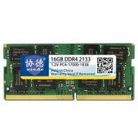 Xiede Laptop Memory Ram Module Ddr4 2133 Pc4 17000 288Pin Dimm 2133Mhz For Notebook