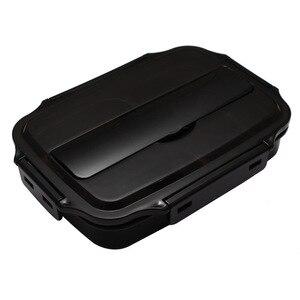 Image 5 - Ланч бокс из нержавеющей стали 304, прямоугольная коробка для обеды для взрослых, 1 студенческий вместительный офисный Рабочий женский Ланч бокс