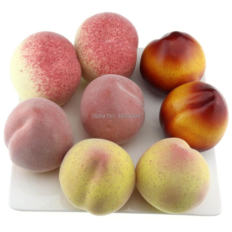 Gresorth Fake Mixed Peach Collection Artificial Peaches Fruits Home Party Shop Christmas Decoration Artificial Fruits Aliexpress,Wheat Pennies Value Chart