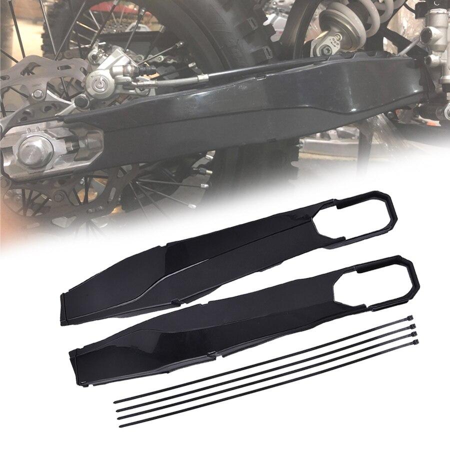 Le protecteur de bras d'oscillation de moto couvre les couvertures de protecteur de cadre de corps pour KTM EXC-F Husqvarna TC FC TE FE TX FX noir