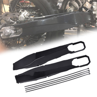 Motorcycle Swing Arm Protector Covers Body Frame Protector Covers for KTM EXC F Husqvarna TC FC TE FE TX FX Black