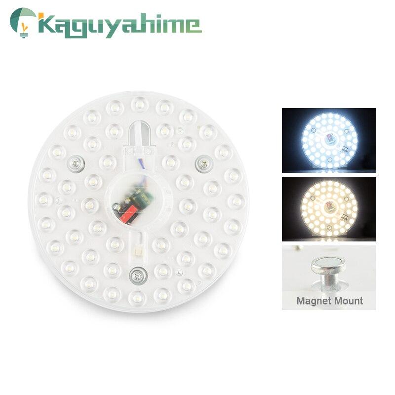 Kaguyahime Magnet LED Module Light Panel For Celling 220V 12W 18W 24W LED Circular Ceiling Spot Downlight Replace Tube Lamp Bulb