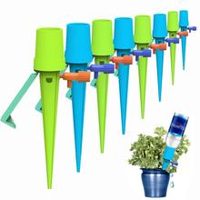 Auto Drip Irrigation Watering System Automatic Watering Spike For Plants Flower Indoor Household Waterers Bottle Drip все цены