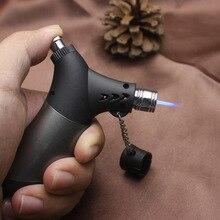 Fixed Flame Jet Butane Cigar Lighter Torch Turbine Cigarette 1300 C spray Gun Fireproof Windproof  Gas