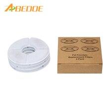Abedoe 4 шт. фильтры с активированным углем Houtskool фильтр для воды