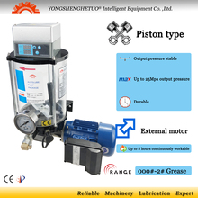 Electric lubrication pump grease lubricator oiler external motor 4L EGO for mixer truck forging stamping agricultural