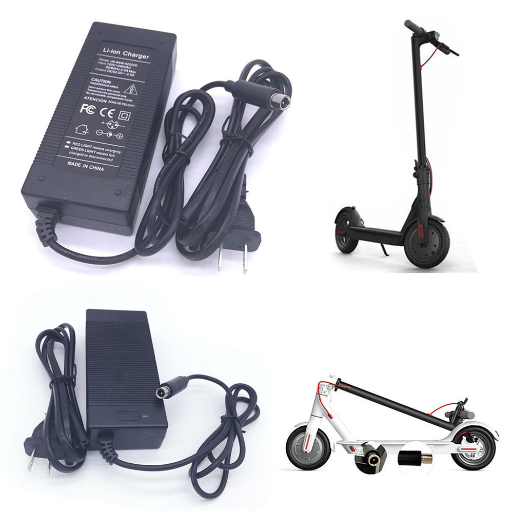 42V 2A LED Battery Charger Charging for Xiaomi M365 Segway Ninebot ES1 ES2 ES4 US EU Plug