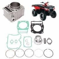 Cylinder Piston Gasket Top End Kit For Polaris Sportsman 500 1996 2013 3086811 3089256 3090293 3087170 3087221