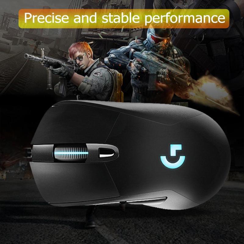 Rétroéclairage de souris de jeu rvb filaire Logitech G403 12000 DPI pour PC Gamer PUBG - 6