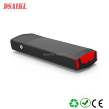 Free shipping electric bicycle rear rack 250W ebike Luggage battery pack 36V 8Ah 10Ah 12Ah with charger
