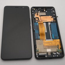 """ESC Tested 6.0"""" For HTC U11 Plus U11+ LCD Screen Display + Touch Digitizer Screen glass  For HTC U11 Plus Display With Frame"""