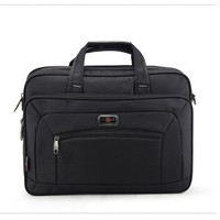 High Quality Men's Briefcase Men Business Handbags Waterproof Durable Oxford 15.6 Inch Laptop Bags Boys Shoulder Files Books Bag