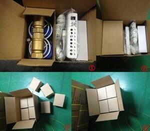 "Image 5 - HIDAKA WLD 805 (DN15*1 pc) EU 전원 플러그가있는 누수 감지기 BSP NPT 밸브 누출 경보 센서 (1/2 ""자동 밸브 포함)"