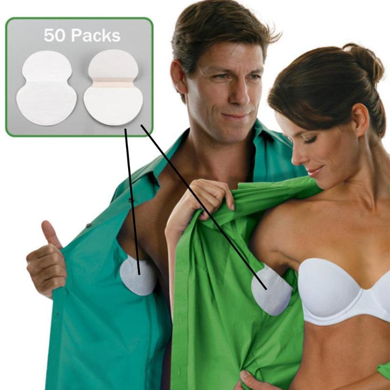 Hot Disposable Underarm Pads Armpit Absorbent Pads Sweat Perspiration Pads Shield Underarm Armpits Sweat Pads Deodorant