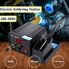 FORGELO Electric Rework Main Unit 967 AC100--265V B Tip Inverter Electric Soldering Station Frequency Change Output Power 75W(China)