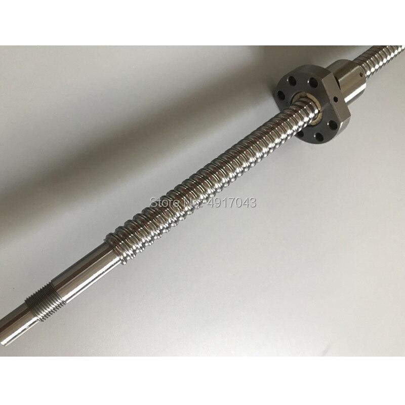 Livraison gratuite 20mm CNC SFU2005/2010 300 400 500 600 700 800 900 1000 1200 1500mm vis à billes BK15/BF15 bout usiné CNC pièces