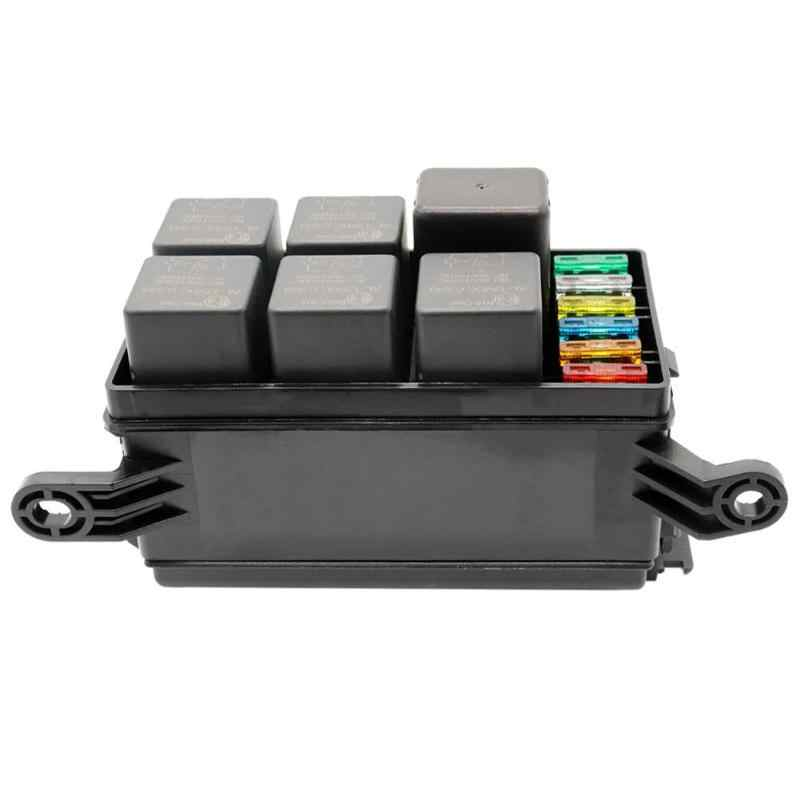 Car Fuse And Relay Box   Wiring Diagrams Waterproof Fuse Relay Box on