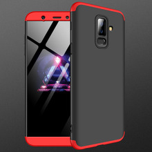 Fo Samsung A6 Plus 2018 Case A600F Matte 360 Degree Full Protection Hard For Galaxy A600 Shockproof cover
