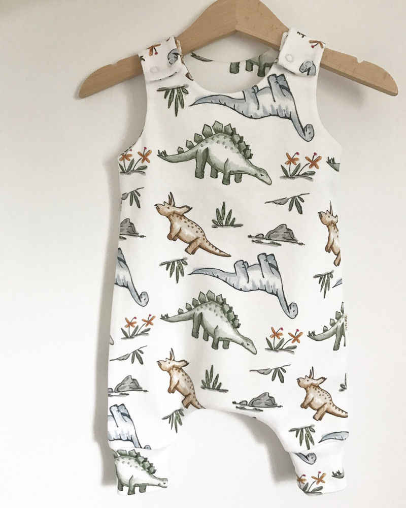 Pudcoco Bayi Celana Kodok 6M-24M Katun Bayi Anak Laki-laki Gadis Dinosaurus Baju Monyet Jumpsuit Pakaian Pakaian