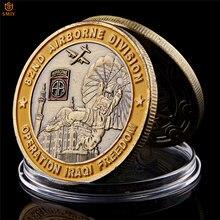 Operación de Saint George, libertad de Israel, 82da División Aérea, moneda conmemorativa de desafío militar coleccionable