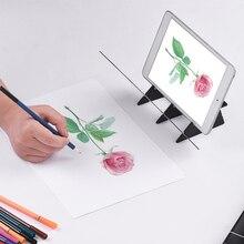 Оптическая детская панель для рисования, трассировочная доска, копировальная панель, рукоделие, портативная форма для рисования на нулевой основе, аниме, эскиз, художественный инструмент, игрушка в подарок