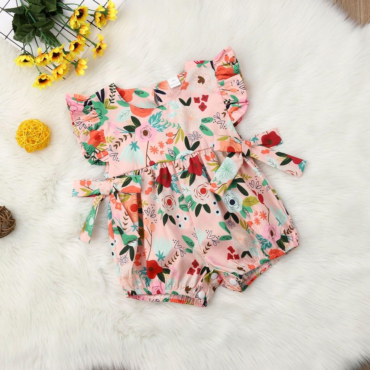 Bébé Filles Dentelle Princesse Ange Body Combinaison Tenue Sunsuit clothes