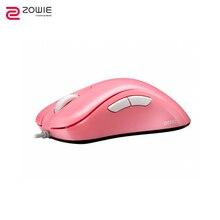 Игровая мышь ZOWIE GEAR EC1-B DIVINA PINK EDITION компьютерная игровая Проводная периферийная мышь и клавиатуры esports