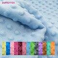 ZYFMPTEX 30 цветов, супермягкая ткань в мелкий горошек для измерения ручной работы, материал для шитья одеяла, мягкая ткань, не скатывается, Эколо...