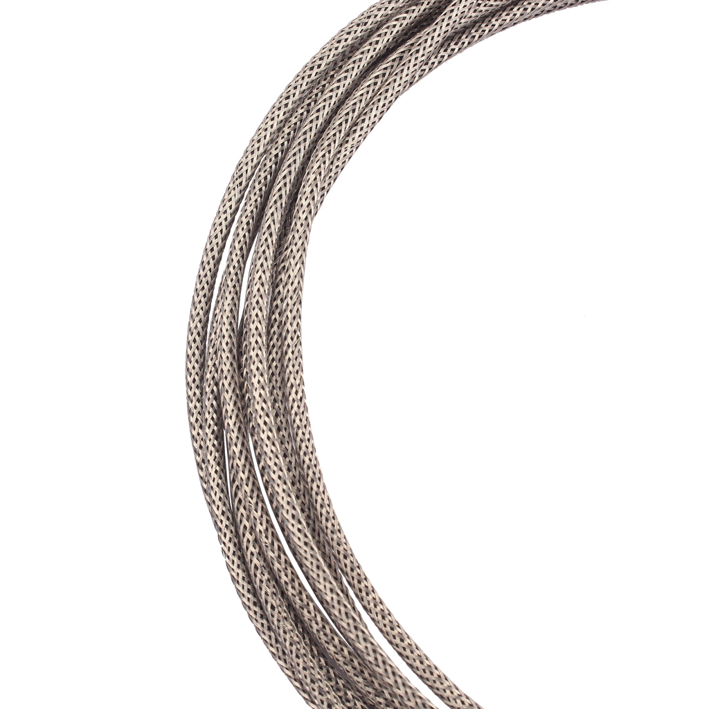 Купить с кэшбэком Tin-copper Long Vintage 22 AWG Braided Shielded Push-Back Cloth Guitar Wire Cable