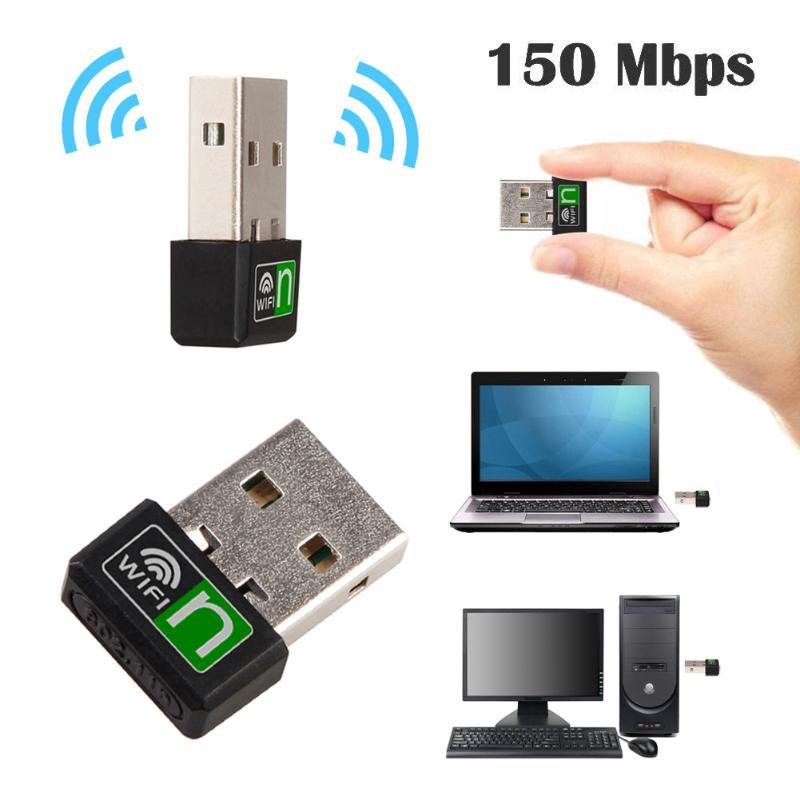150Mbps High Speed USB 2.0 WiFi Wireless Adapter Laptop Network LAN Card 802.11 N/g/b For Windows Vista/XP/2000/7/Linux/Mac OS