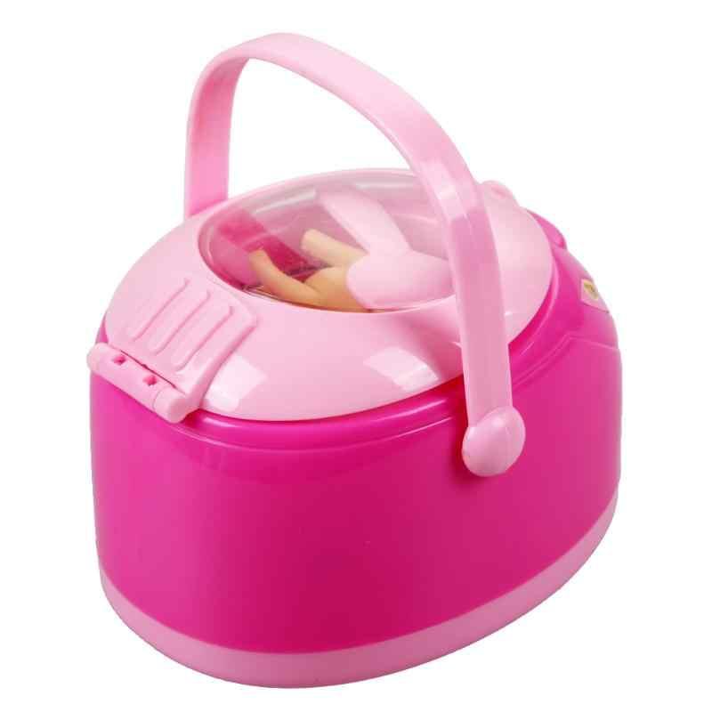 Symulacja urządzenia do gotowania ryżu zabawki dla dzieci udające do odgrywania ról Montessori edukacyjne zabawki dla dziewczynek akcesoria dla lalek prezenty świąteczne