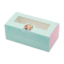 50 PCS Gift Cake Box Windows Party Favor Kraft Wedding For Candy Sweet Chocolate Present Package Supplies Cardboard
